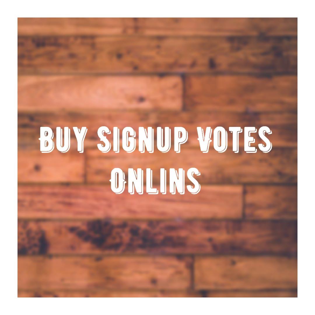 buy signup votes