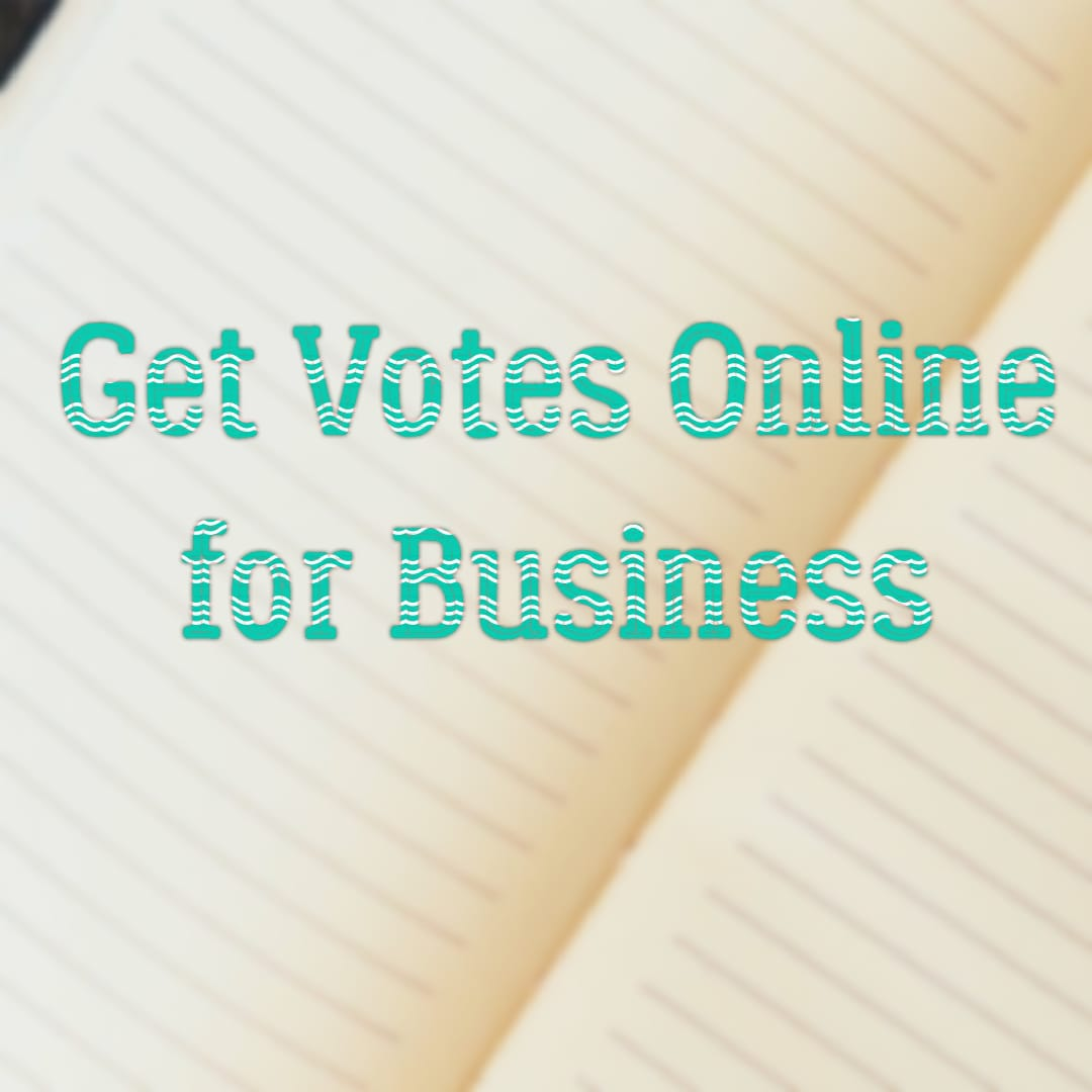 how to get votes online